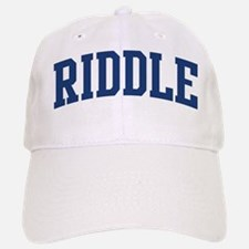 RIDDLE design (blue) Cap
