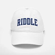 RIDDLE design (blue) Cap