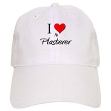 I Love My Plasterer Baseball Cap