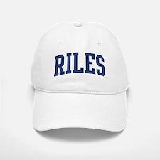 RILES design (blue) Baseball Baseball Cap