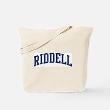 RIDDELL design (blue) Tote Bag