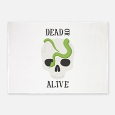 Dead Or Alive 5'x7'Area Rug