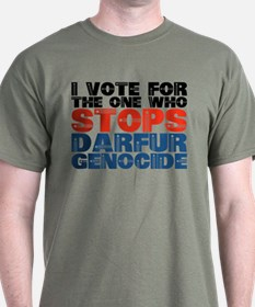 VOTE FOR DARFUR T-Shirt