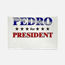 PEDRO for president Rectangle Magnet