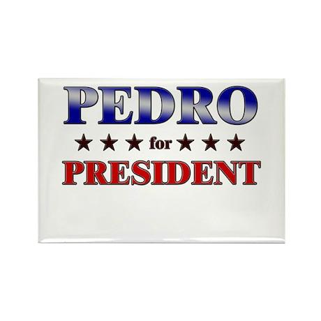 PEDRO for president Rectangle Magnet (10 pack)