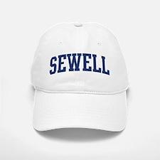 SEWELL design (blue) Baseball Baseball Cap