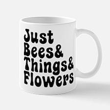 Just Bees & Things & Flowers Mugs