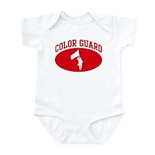 Color Guard (red circle) Infant Bodysuit