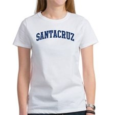 SANTACRUZ design (blue) Tee