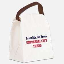Trust Me, I'm from Universal City Canvas Lunch Bag