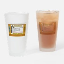 Happiness is the Best Medicine - Dr Drinking Glass