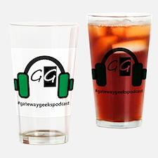 Gateway Geek Logo Drinking Glass