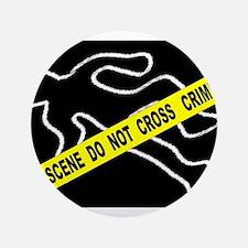 Crime Scene Chalk Mark Button
