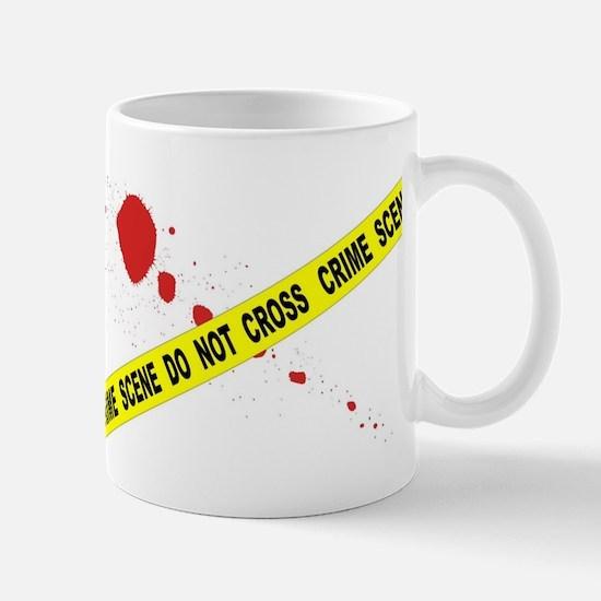 Crime Scene Do Not Cross Mugs