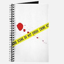 Crime Scene Do Not Cross Journal