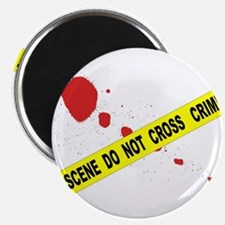 Crime Scene Do Not Cross Magnets