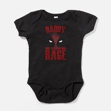 Funny Pig dad Baby Bodysuit