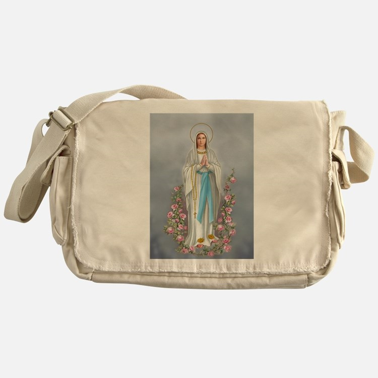 Blessed Virgin Mary 02 Messenger Bag