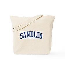 SANDLIN design (blue) Tote Bag