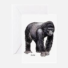 Gorilla Ape Greeting Cards (Pk of 10)