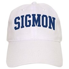 SIGMON design (blue) Baseball Cap
