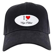 I Love My Pipe Fitter Baseball Hat