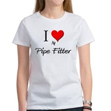 I Love My Pipe Fitter Tee