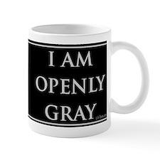 OPENLY GRAY Small Mug