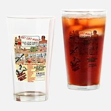 Two True Freaks - Nerd Power Drinking Glass