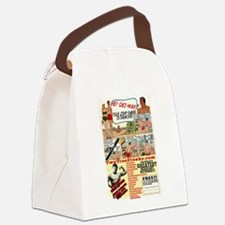 Two True Freaks - Nerd Power Canvas Lunch Bag