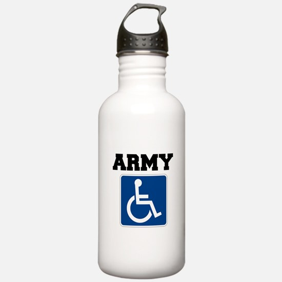 Army Handicapped Disabled Water Bottle