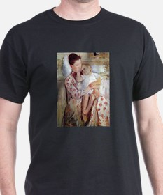 Mother and Child by Mary Cassatt (Maternit T-Shirt