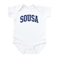 SOUSA design (blue) Infant Bodysuit