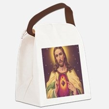 Sacred Heart of Jesus 01A Canvas Lunch Bag