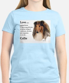 Rough Collie Love Is T-Shirt
