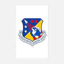 Cheyenne Mtn Ops Ctr Crest Sticker (Rectangle)