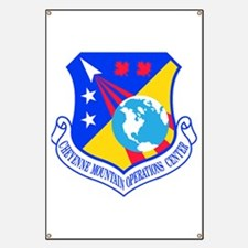 Cheyenne Mtn Ops Ctr Crest Banner
