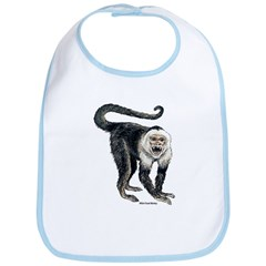 White-Faced Monkey Bib