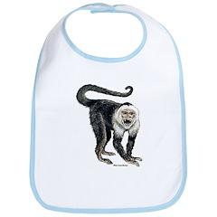 White-Faced Monkey Bib