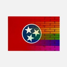 Rainbow Wall Tennessee Magnets