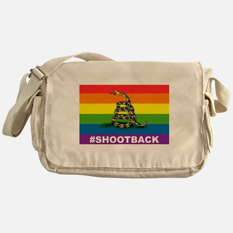 Rainbow Gadsden S-B Messenger Bag