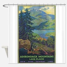 Adirondack Mountains.Lake Placid, New York Vintage