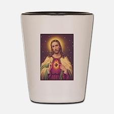 Sacred Heart of Jesus 01A Shot Glass