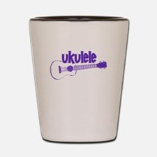 Purple Ukulele Shot Glass