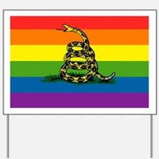 Rainbow Gadsden Yard Sign