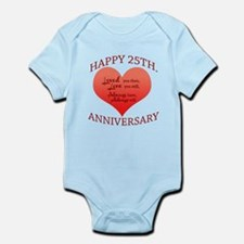 25th. Anniversary Body Suit