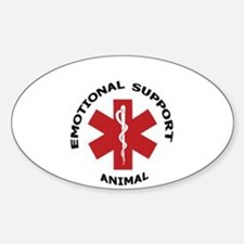 Emotional Support Animal Decal