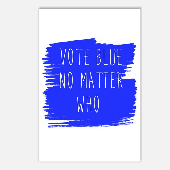 Vote Blue No Matter Who Postcards (Package of 8)