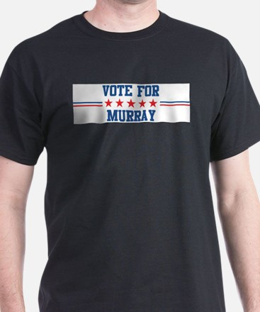 Vote for MURRAY Ash Grey T-Shirt