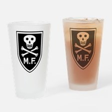 Mike Force Drinking Glass